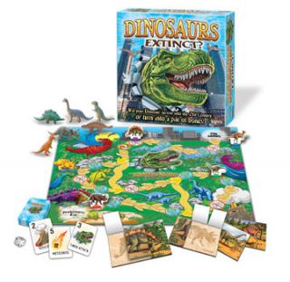 DINOSAURS EXTINCT? FUN KIDS BRIARPATCH BOARD GAME