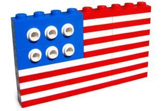 FLAG 10042 Set Fourth of July holiday 4th U S usa united states