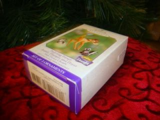 Hallmark 2000 Frolicking Friends Bambi Thumper Flower Spring Ornament