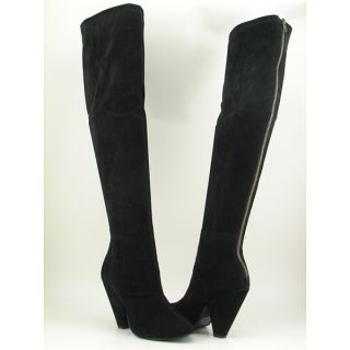 Steve Madden Brewster Black Boots Shoes Womens Size 6