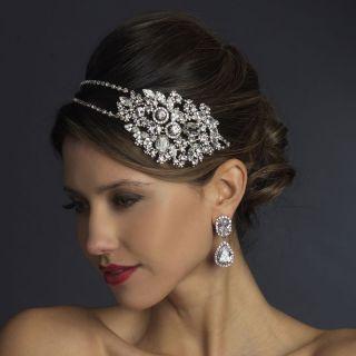 ACCENT Silver Bridal Wedding Tiara headband 4 prom veil gown 930sv
