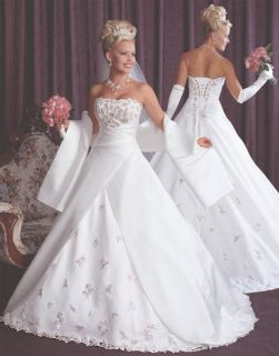 2012 New Bridal Wedding Evening Party Dresses Formal Ball Gowns With