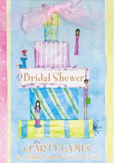 item 147011 wedding wishes bridal shower game book 6 party games