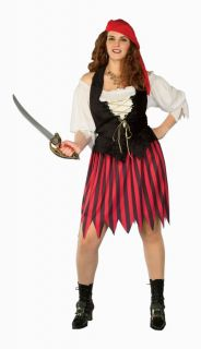 Buccaneer Bride Adult Plus Womens Costume Sexy XXL Pirate Theme Party