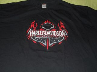 Harley Davidson Daytona Beach Shirt Bruce Rossemeyer