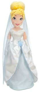 Disney Princess Cinderella Bride Large Stuffed Plush Doll Wedding