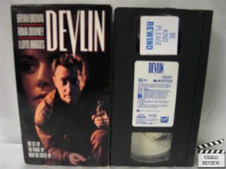 Devlin VHS Bryan Brown Roma Downey Lloyd Bridges 086112288833