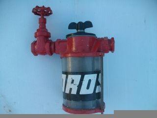 Marine raw water strainer Mercruiser omc air Sea ray bayliner volvo