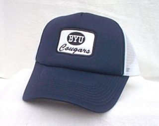 Brigham Young University Cougars Ball Cap Hat Trucker