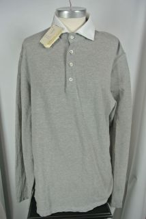 Brunello Cucinelli Long Sleeve Polo NWT