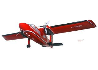 Britten Norman BN 2T Islander Red Devils Desktop Model