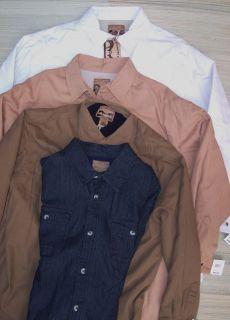 Buckhorn River Mountain Standard Mens Thick Lined Canvas Shirt Jacket