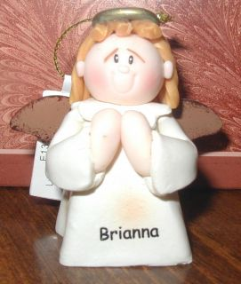 Lil Angel Ornament Personalized B Names