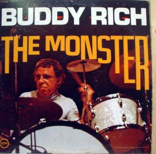 buddy rich the monster label verve records format 33 rpm 12 lp stereo