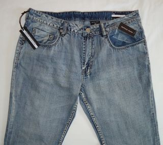 Mens Buffalo David Bitton Six Jeans 34 x 32 Great Markings Color