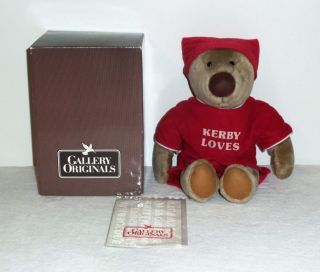 NIB ULTRA RARE VTG AVON KERBY KIRBY PLUSH STUFFED BEDTIME TEDDY BEAR