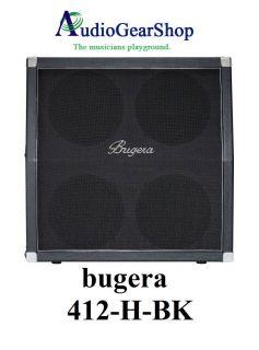 Bugera 412H BK Guitar Speaker Cabinet 200 Watts 4x12