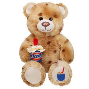 New Build A Bear 17 in Cookie Dough Blizzard Bear