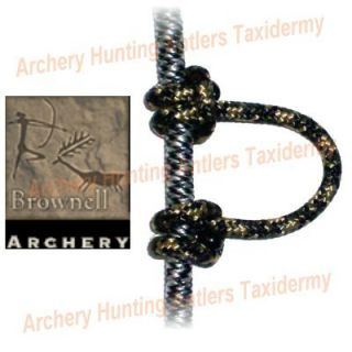Brownell Camo Release String D Loop Archery Bow 5 Feet