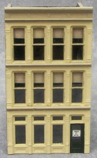 Vintage Model Railroad Plastic HO Building Lot