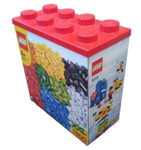 Lego XXL Brick Box 1600 Pieces Building Blocks Huge Set 5512
