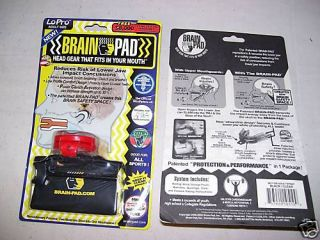 Brain Pad mouthpiece rodeo PBR bull riding equipment Youth Size New