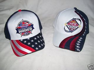 NFR Caps 2 rodeo PBR PRCA bull riding gear team roping National Finals