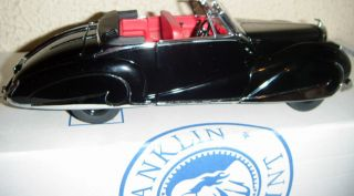 Franklin Mint 1947 Bentley 1 24 with Box Mint Condition