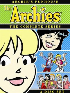 Archies Funhouse   The Complete Series DVD, 2008, 3 Disc Set