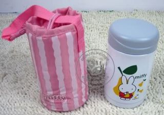 Dick Bruna Miffy Rabbit Thermal Lunch Box Bento w Bag L