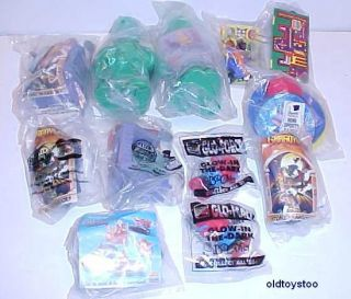 12 BURGER KING TOYS GARGOYLES MORE IN SEALED BAGS