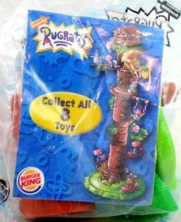 Burger King 2000 Rugrats Kids Club Treehouse 4