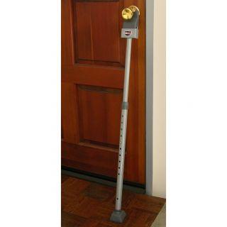 Door Brace Bar Jam Adjustable Pole Steel Security Stick   For Sliding