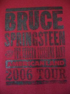 BRUCE SPRINGSTEEN AMERICANLAND 2006 TOUR CONCERT T SHIRT NEW sz L