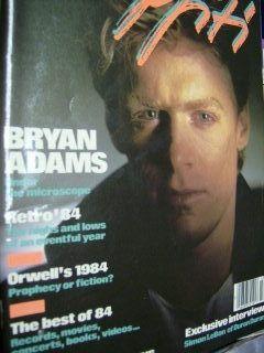 Graffiti 1985 Magazine Bryan Adams Simon Lebon RARE