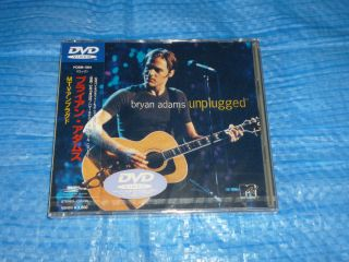 Bryan Adams MTV Unplugged Promo DVD Japan OBI Pobm 1004 New