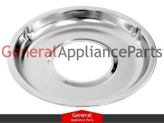 Gas Stove Range Cooktop 8 3/4 Burner Chrome Drip Pan Bowl WB31K5026