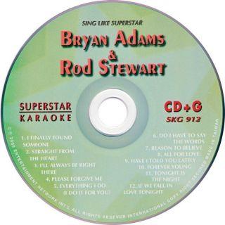 Bryan Adams More Karaoke SKG912 12 Greatest Hits New
