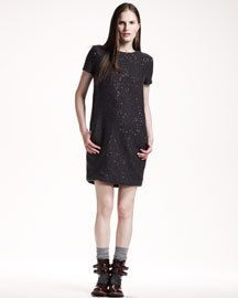 BRUNELLO CUCINELLI WINTER 2012 SUEDE TUNIC TOP / DRESS $4670