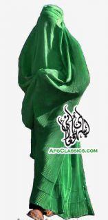 Afghanistan Pakistan Womens Burka Burqa Chadari Green