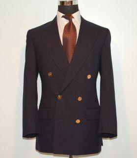 Mens Double Breasted Jacket Sport Coat Blazer Gold Prorsom BTNS