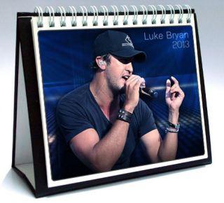 Luke Bryan 2013 Desktop Holiday Calendar
