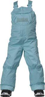 Burton Minishred Sweetart Snowboard Bib Pants Girls 2T Kids Light Blue