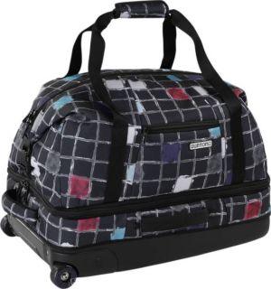 BURTON snowboard WHEELIE CARGO travel bag luggage watercolor ~NEW~