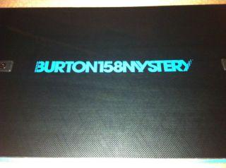 Burton Mystery 158 Snowboard Retail for $1 499 95 Method Vapor