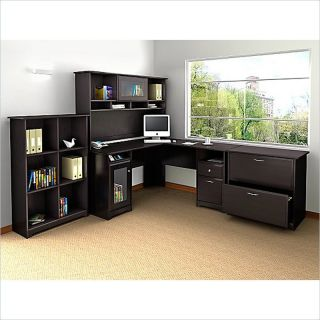 Osp Furniture Naptyp10l Napa Left L Shaped Computer Corner