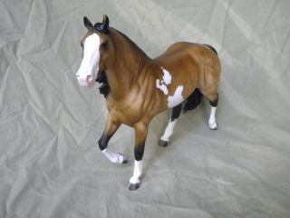 Breyer CM Custom Quarter Horse Chic Olena Dappled Buckskin Paint