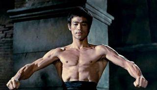 NIB Bruce Lee Enterbay EB Action Figure Toy Kung Fu 70th Anniversary