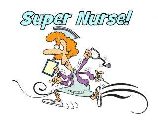 Shirt Super Nurse Funny Medical Nursing Syringe Shot Busy