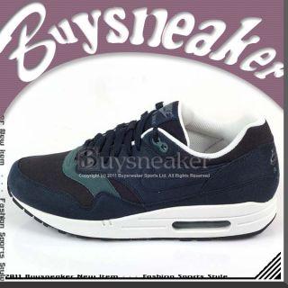 Nike Air Max 1 Obsidian Slate Blue White Classic 2011 Cushion Mens